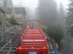 2011年7月スイス-6 恐怖のケーブルカーと癒しのサイクリング 心の振れ幅の大きい1日