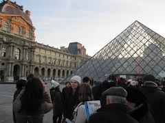 シニアの極寒パリ路線バスの旅 ③美術館無料の日、シャンゼリゼの夜景も見物