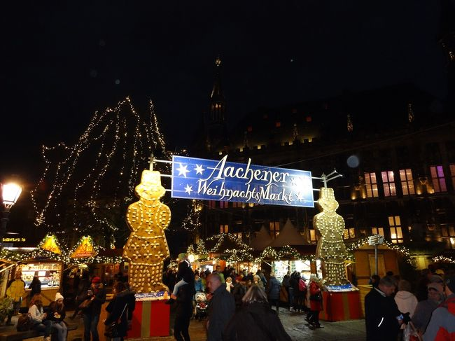 今年もクリスマスマーケットはベルギー・ドイツへ①(リエージュからアーヘン・ファンケンブルク)