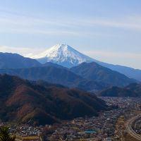 九鬼山登山で富士山観賞