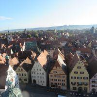 2014秋  待望のヨーロッパデビューはドイツひとり旅③ ローテンブルクはドイツのワイキキ?