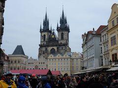2014年12月プラハ(02) 町の中心を軽く歩く