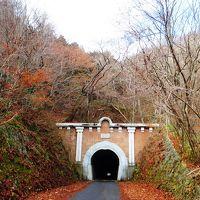 <五街道ウォーク・甲州街道編.11-2>いよいよ笹子峠越え!「笹子隧道」とまっ暗闇な山道?