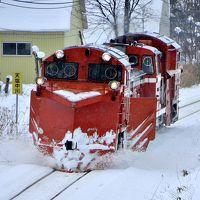 冬の北海道を巡る旅 ~宗谷本線の定期排雪列車(宗谷ラッセル)を追いかけて@天塩中川、音威子府 (失敗編)~