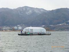 初冬の信州諏訪湖「大自然満喫ツアー~わかさぎ釣り体験~」私でも釣れた!!!