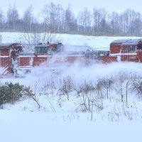 冬の北海道を巡る旅 ~宗谷本線の定期排雪列車(宗谷ラッセル)を追いかけて@勇知~