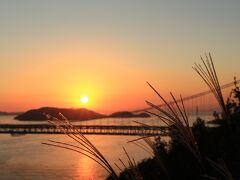 2014 岡山の旅 3/8 夕日と瀬戸大橋 (1日目)