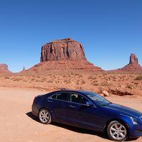 4日目:ラスベガスからザイオン国立公園、アンテロープ、モニュメントバレー、グランドキャニオン、レンタカーの旅