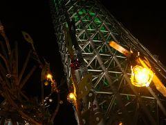 スカイツリー、ドリームクリスマス2014
