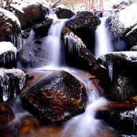 ◆氷雪の東野の清流