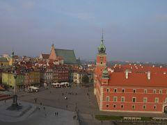 秋のポーランド世界遺産巡り その2 ワルシャワの街をてくてく観光