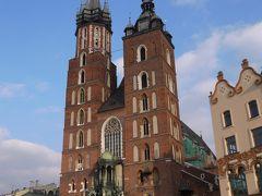 秋のポーランド世界遺産巡り その5 クラクフてくてく街歩きで聖マリア教会へ