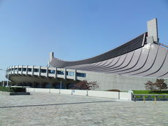 丹下健三の国立屋内総合競技場(代々木体育館)