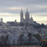 2014年12月 パリで美術館巡り① 関空→パリホテル着(エールフランス)