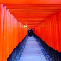 新年を迎えた京都 紅い元旦 白い元旦と過ぎにけり