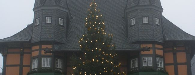 木組みのお家とクリスマスマーケットを廻...