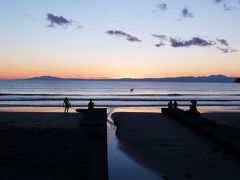 初春の鎌倉・3時間で17の寺社を巡り、材木座海岸の夕陽に感動