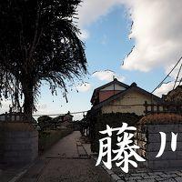 「東海道五拾三次」を歩く  三十八、藤川 ~ 岡崎
