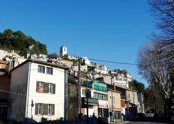 ニース,フィレンツェ,チンクエテッレドライブ旅行2-空港からSaint-Paul-de-Vence駐車場,Villeneuve-Loubetの街を通る