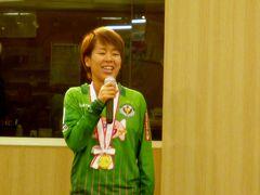なでしこサッカー日本代表の岩清水トークショー IN 岩手