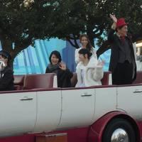 こどもを連れて電車で小旅行 東京ディズニーランド スペシャルイベント 「アナとエルサのフローズンファンタジー」初日 松たか子 あらわる