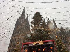 ドイツのクリスマスマーケットを巡る旅2014 (1日目) ~ケルン・フランクフルト~寒くない!でも雨でした。