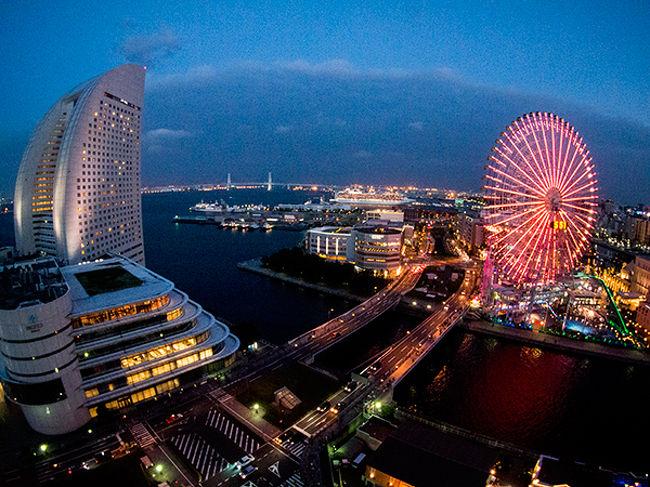 地元ですが、横浜ベイホテル東急に宿泊し<br />SALONE2007でディナーを頂いてきました