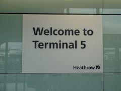 ◆ロンドン◆ヒースロー空港~ターミナル5(乗継ぎ)