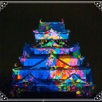 3年ぶりの・・・連れ合いの大阪帰省と、せっかくだから、奈良のガブちゃんに会いに行っちゃおう~!⑤ 大阪城3Dマッピングスーパーイルミネーション