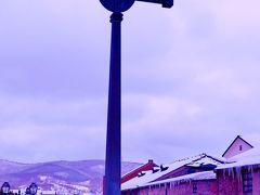 小樽運河・小樽駅・北一硝子三号館など ☆歴史的な建造物を見て歩き