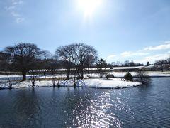 美しい雪景色の軽井沢 冬のバカンス♪ Vol1(第1日目)☆ショッピングプラザの冬景色とステーキハウス♪