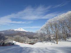 美しい雪景色の軽井沢 冬のバカンス♪ Vol2(第2日目)☆軽井沢プリンススキー場で優雅に滑る♪メインダイニングで優雅なランチ♪コテージでまったりとディナー♪