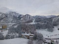 越後湯沢はすごい雪でした