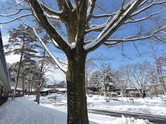 美しい雪景色の軽井沢 冬のバカンス♪ Vol6(第5日目)☆ゆったりと帰京へ♪