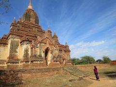 フラッシュパッカー 一人旅 ヤンゴン・バガン 5日目後半・6日目(ミン・ナン・トゥ村、帰国)