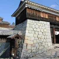 坂の上、歩いて登る松山城