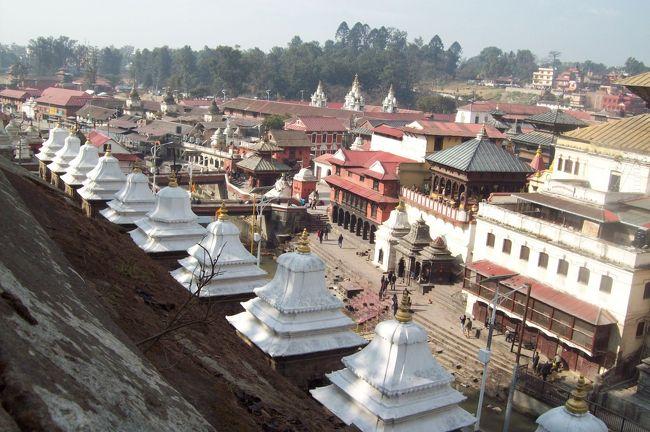 2015.1.8<br /><br />ネパール滞在最終日。<br />最後に訪れたのは、空港近くにあるシュパティナートという寺院でした。<br />ネパール最大ヒンドゥー教の寺院で、ヒンドゥー教のシヴァ神が祀られている寺として、<br />ネパールだけでなくインドからも巡礼に訪れる人が多いそうです。<br />1時間ほど寺院を見学した後、歩いてトリプバン空港へ。<br /><br />夜バンコクに着き、長いネパールの旅を終えたのでした。
