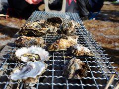 牡蠣祭りだよ!冬の松島へGO