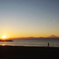 江の島と葉山 「やっぱり森戸の夕日は最高でした!」