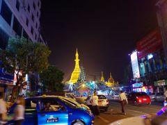 ミャンマー 一日目 夜のヤンゴン
