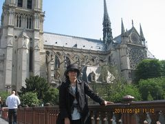 ヨーロッパ 6-(2) パリ・リヨン駅からセーヌ川に出て、ノートルダム寺院、パリ大学、パンテオンなどへ・・・