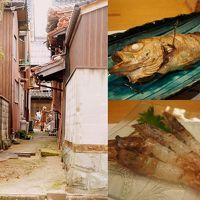 のどぐろとモサエビが食べたい!米子 旧加茂川沿いの町並みを散策しました