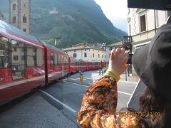 ヨーロッパ 6-(6) 午後、スイスとの国境の町ティラノに着いて、街をブラブラ・・・・