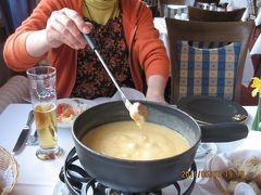 ヨーロッパ 6-(8) サンモリッツの街をブラブラ・・・・そしてホテルで夕食を
