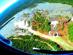 イグアスの滝をヘリーから眺め下ろす!(イグアス/ブラジル)