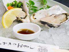 宮島で牡蠣を食べる旅