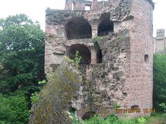 ヨーロッパ 6-(21) ローテンブルクからハイデルベルクへ、そしてお城とネッカー川とカール・テオドール橋とツム・ギュルデネン・シャーフで食事・・・