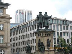 ヨーロッパ 6-(22) ハイデルベルクからフランクフルトへ、そしてゲーテ広場とレーマー広場と木組みの家並・・・