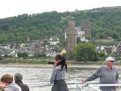 ヨーロッパ 6-(24) 世界遺産のライン川下りだぁ~・・・お城がいっぱい!あのローレライも・・・