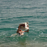 死海周辺(イスラエル側)